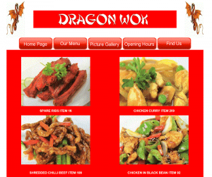 Dragon Wok Chinese Takeaway in Ottershaw Surrey