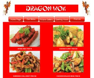 Dragon Wok Chinese Takeaway in Ottershaw Surrey
