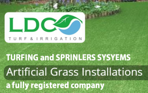 LDC Turf and Irrigation for Turf laying and Sprinkler installations or Artificial grass installation