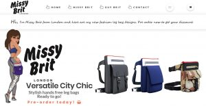 MISSY BRIT LONDON Fashion bags and more