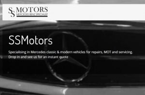 SS Motors Advertisement